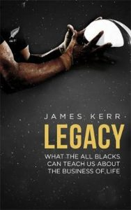 Boek; James Kerr; all blacks